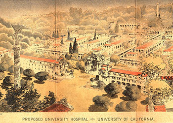 drawing of proposed hospital