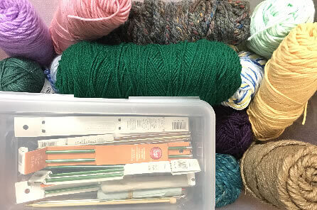 Knitting and Sewing