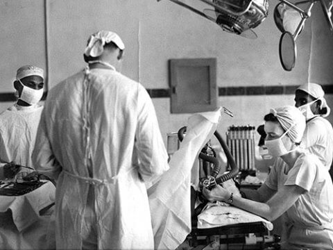 early anesthesia