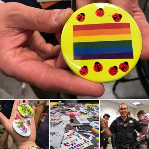 Button Making for PRIDE