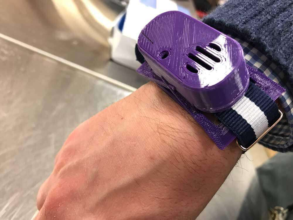 3D printed wrist attachment