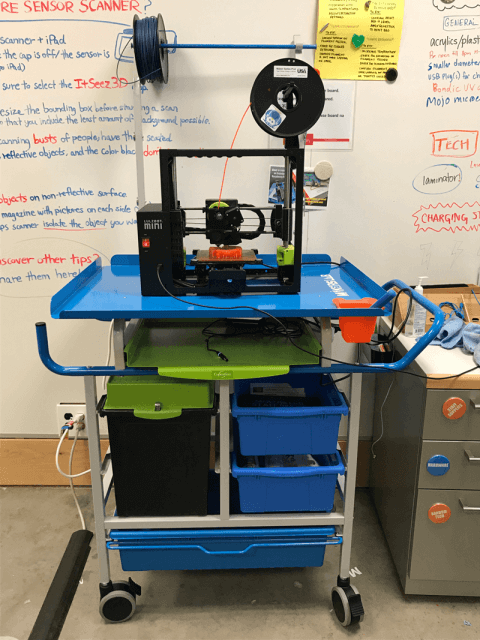 Mobile Makers Lab Cart