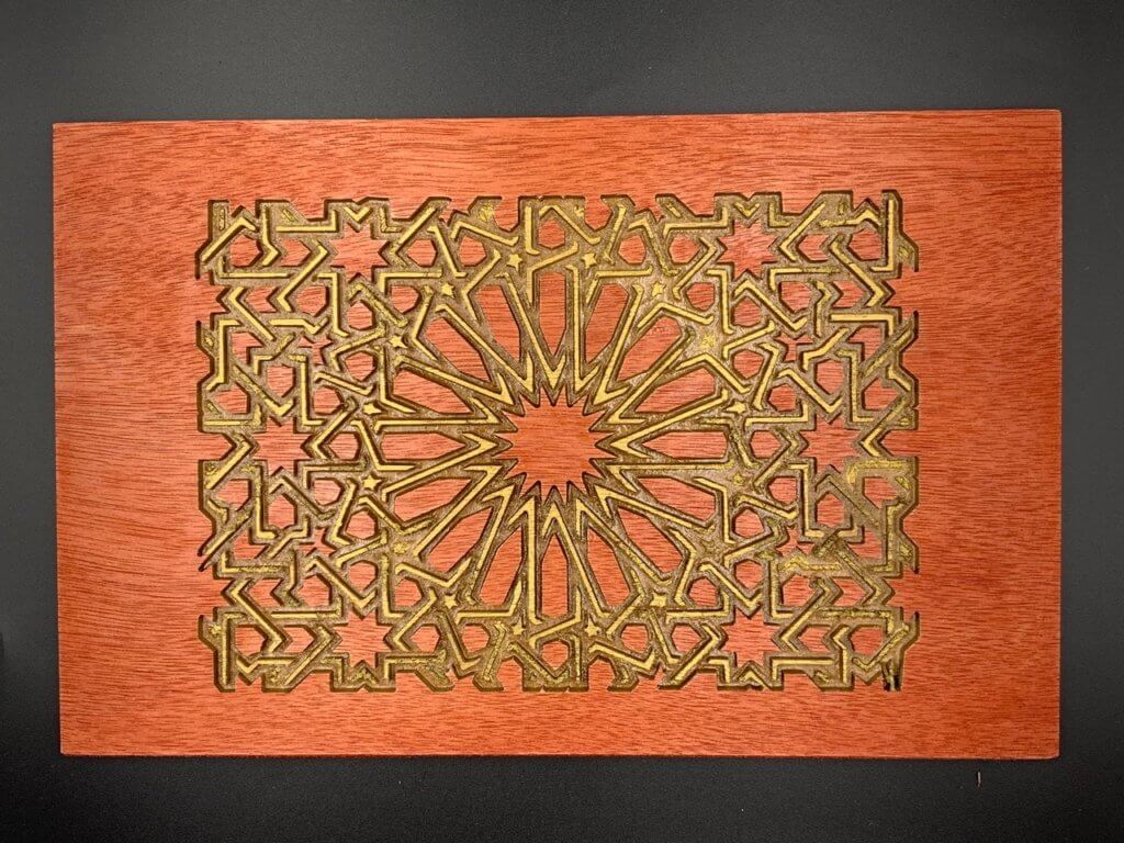 Carved pattern with Carvey