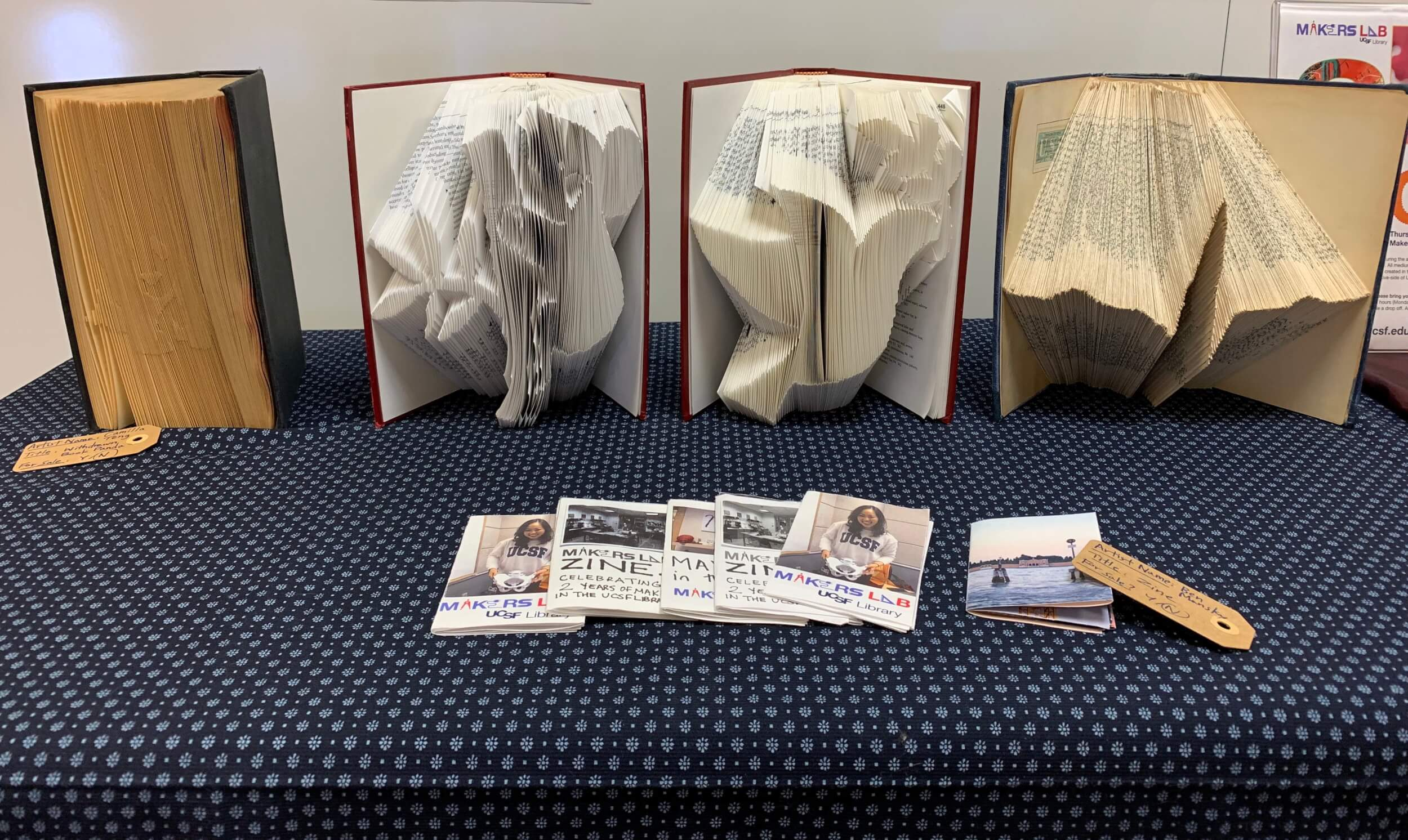 bookfolding projects and zines