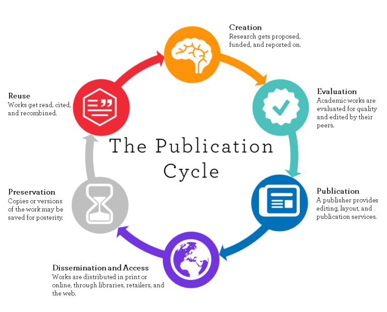 publication cycle graphic