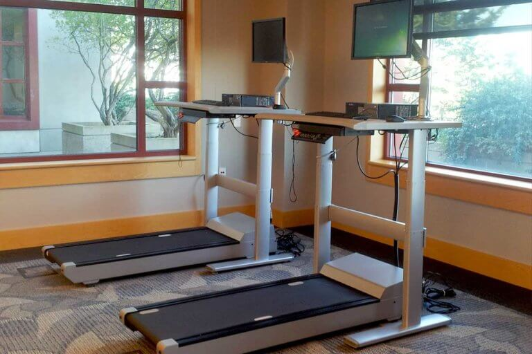 treadmill workstations