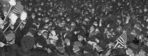 Celebrating the end of the First World War in San Francisco