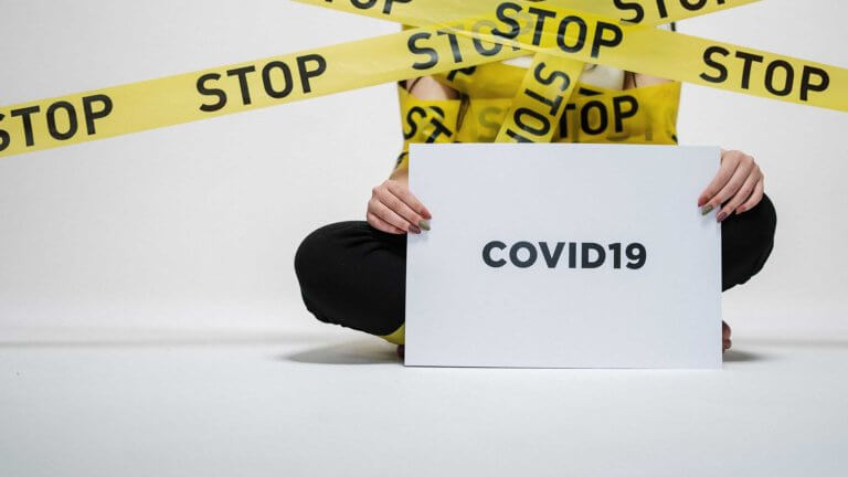 stop covid19 sign