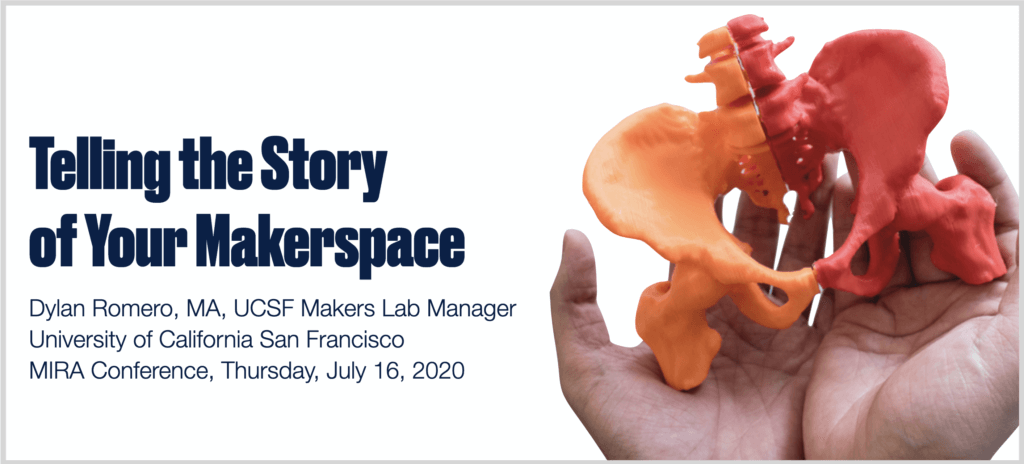Telling the Story of Your Makerspace presentation slide