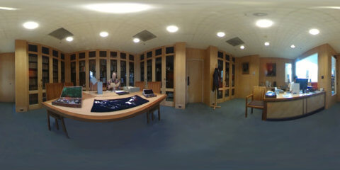 360 video of Archives reading room