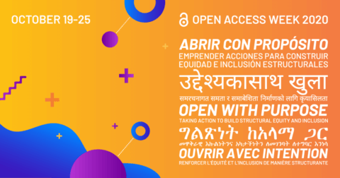 2020 Open Access Week Banner